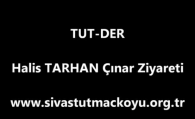 Halis TARHAN Çınar Ziyareti